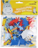 Moosgummi Formen Happy Birthday sortiert | 105 Teile