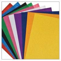 Felt sheets colors assorted | 10 pieces | size: 30,5x22,8...
