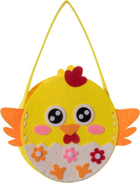 Sewing craft kit carry bag   design: chicken