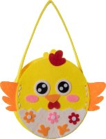 Sewing craft kit carry bag | design: chicken