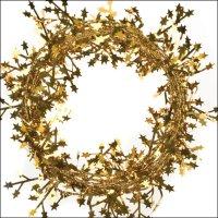 Basteldraht mit Sternen | 1 Stück | Länge: 2.75 m | Gold