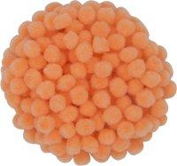 Pompons | color: apricot | 200 pieces | size: 10 mm