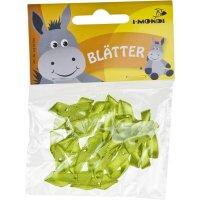 Blätter aus Stoff | 20 Stück | Farbe: grün...