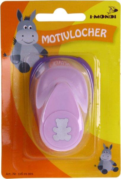 Motivlocher klein (1) Bär   Größe: ca. 6.5 x 4.5 x 3.9 cm