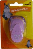 3D Motiovlocher klein (4) Vogel | Größe: ca....