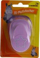 3D Motivlocher groß (1) Stern | Größe:...