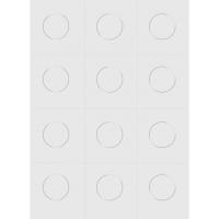 Klebepunkte transparent | 36 Stück |...