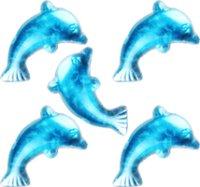 Schmucksteine   Farbe: aquamarin   Form: Delfin   100...