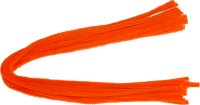 Chenille stems | color: orange | 15 pieces | length: 50...