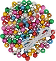 Metallic beads | colors assorted |30 g. | size: 8 mm