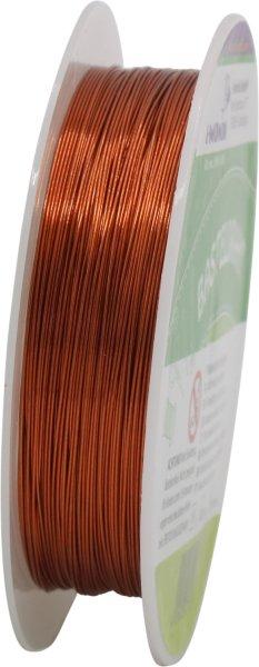 Basteldraht | Farbe: kupfer | Länge: 15 m | Ø 0.3 mm