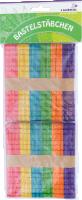 Bastelstäbchen aus Holz zum Verbinden bunt sortiert | 100 Stück | 114x10x2 mm
