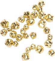 Glöckchen mit Öse | Farbe: Gold  | 30...