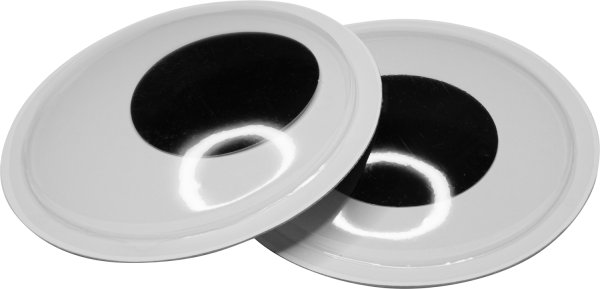 Wiggle eyes   color: black   2 pieces   size: 15 cm   self-adhesive