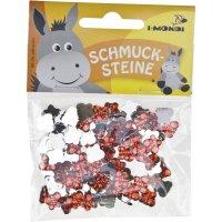 Schmucksteine   Form: Schmetterlinge   100 Stück  ...