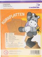i-mondi® Korkplatten | 6 Stück | Stärke: 1...