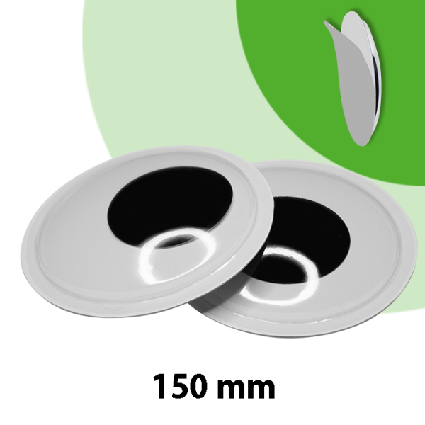2x 150mm